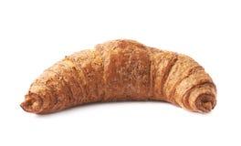 被隔绝的甜新月形面包酥皮点心 库存照片