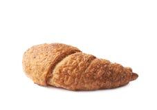 被隔绝的甜新月形面包酥皮点心 免版税库存图片