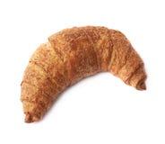 被隔绝的甜新月形面包酥皮点心 库存图片
