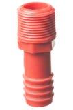 被隔绝的男性水管适配器 图库摄影