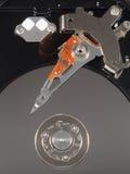 被隔绝的硬盘驱动器 库存照片