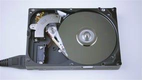 被隔绝的硬盘从计算机 股票录像