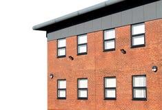 被隔绝的空的现代办公楼 免版税库存图片