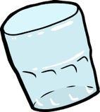 被隔绝的空的水杯 免版税库存照片