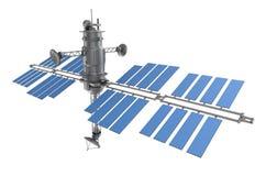 被隔绝的空间卫星 库存例证