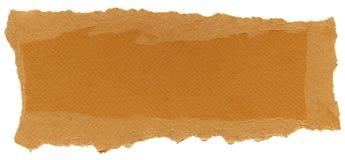 被隔绝的纤维纸纹理-红萝卜橙色  免版税库存照片