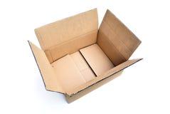 被隔绝的纸板箱 库存图片