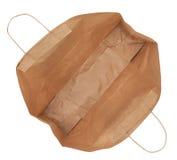 被隔绝的纸购物袋 免版税库存图片
