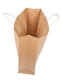 被隔绝的纸购物袋 免版税图库摄影
