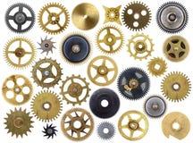 被隔绝的老嵌齿轮 免版税库存图片