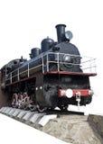 被隔绝的老机车 图库摄影