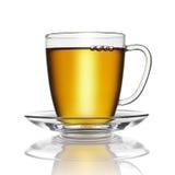 被隔绝的茶杯 库存图片