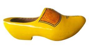 被隔绝的荷兰鞋子 免版税库存图片