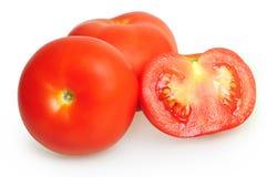 被隔绝的蕃茄 库存图片