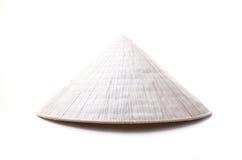 被隔绝的越南帽子 免版税库存图片