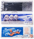 被隔绝的邮票 免版税库存图片