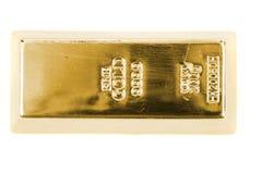 被隔绝的金黄砖 免版税图库摄影