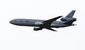 被隔绝的麦克当诺道格拉斯公司KDC-10飞机 免版税库存图片