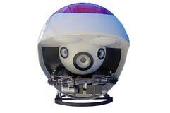 被隔绝的水下的机器人 图库摄影