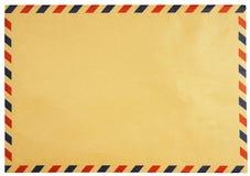 被隔绝的经典葡萄酒信封 免版税库存图片
