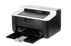 被隔绝的紧凑打印机 免版税库存照片