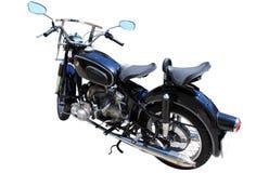 被隔绝的BMW摩托车 免版税库存图片