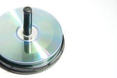 被隔绝的CD 免版税图库摄影