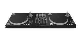 被隔绝的DJ转盘 向量例证