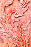 被雕刻的木头 免版税图库摄影