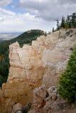 被雕刻的极大的尖顶, Bryce峡谷 库存照片