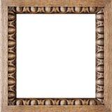 被雕刻的框架橡木照片正方形 库存图片