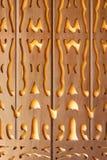被雕刻的详细资料马来西亚传统木 图库摄影