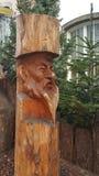 被雕刻的雕塑在圣诞节的科隆 免版税库存照片