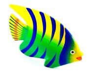 被雕刻的鱼 图库摄影
