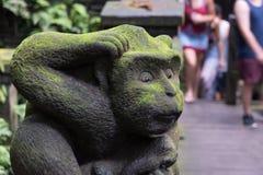 被雕刻的猴子 库存图片