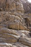 被风化的岩石的纹理 免版税库存图片