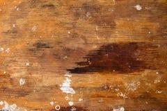 被风化的木桌 免版税库存照片