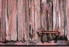 被风化的木纹理 库存图片