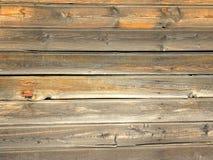 被风化的木谷仓板纹理 图库摄影