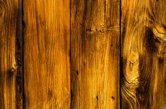 被风化的杉木板条纹理 免版税库存照片