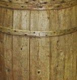 被风化的桶背景 库存照片