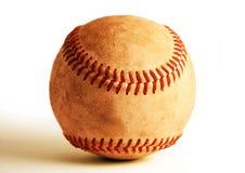 被风化的棒球 免版税库存图片