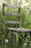 被风化的椅子 图库摄影