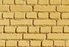 被风化的橙色颜色砖墙样式 库存照片