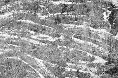被风化的混凝土墙纹理背景 困厄的石表面 免版税库存照片