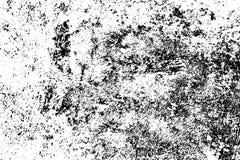 被风化的混凝土墙 土气石沙粒纹理 黑污点和噪声困厄的作用的 向量例证