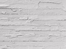 被风化的白色木头 库存照片