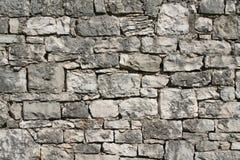 被风化的石墙 图库摄影