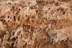 被风化的石头 库存照片