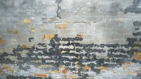 被风化的砖墙 库存图片